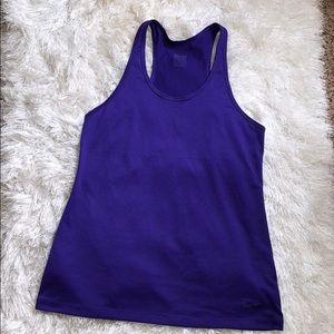 Nike Dri Fit Sz S Purple Tank Like New